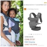 4 in 1 infantino carrier