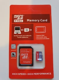 Micro SDHC Memory Card 256 GB Sandnes