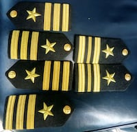 6 pcs us navy epaulettes Fairfax