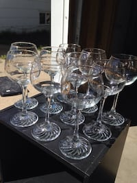 10 OLYPIC COLLECTION WINE GLASSES MINT CONDITION Grande Prairie, T8V 1T7