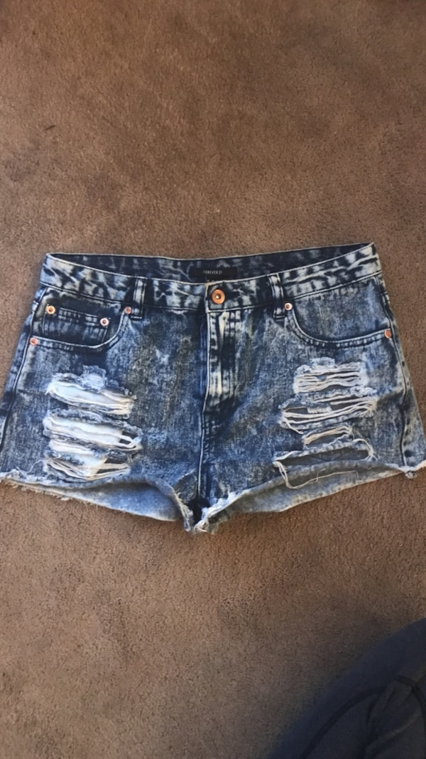 Forever 21 denim shorts, size 29 (fits like a 27)