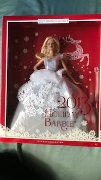 2013 Holiday Barbie Doll Garden City, 48135