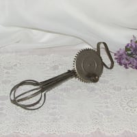 Vintage Rotary Hand Mixer 1920's Egg Beater Mississauga