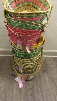 $1 each Brand new Multiple baskets available Bamboo baskets  Louisville, 40223