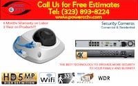 Surveillance Security Camera System Professional-Best Quality Service Los Angeles