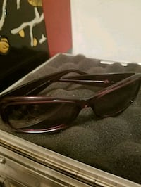 black framed sunglasses with case Kelowna, V1Y 2L2
