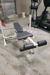 Steel weight bench for sale 75$