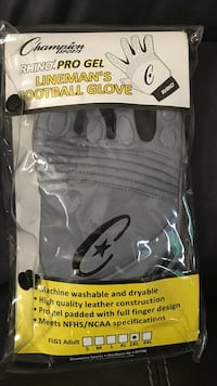 Lineman football gloves Adult XXL Las Vegas, 89130