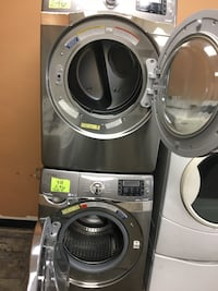 gray front-load clothes washer and dryer set Los Ángeles, 91345