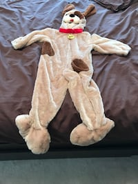 baby's white and brown footie pajama Vaughan, L4J 9E9