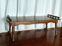 Solid Wood Vintage Coffee Table Brampton, L6P