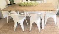 Custom Designed Hand Crafted Farm house style Dinning Table Grey White Newport News, 23606