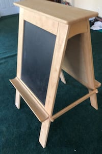 Easel by Little tykes caulk and dry erase board