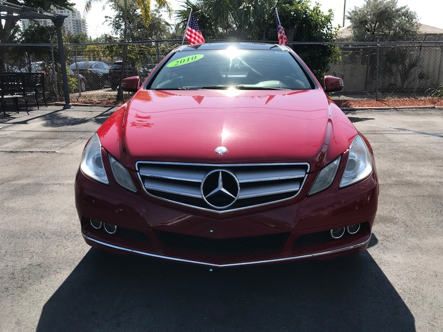 red Mercedes-Benz car for sale  Fort Lauderdale