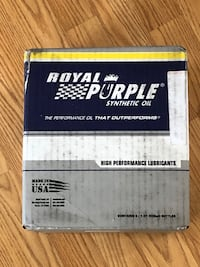 Royal Purple SAE 5W40 Synthetic Motor Oil 6 Quarts Lancaster