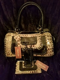 Madi Claire desiner handbag with Matching Wallet! New With Tags!