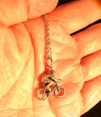 """18"""" cycler necklace sterling silver"""