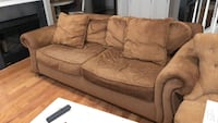 Gold sofa with bun feet Gaithersburg, 20878