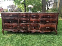 Delivery - antique 12 drawer French country dresser  Toronto, M9B 3C6