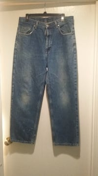 Member's Mark Relaxed Fit Medium Wash Blue Jeans - 34x29 Louisville