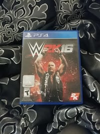 WWE 2K17 PS4 game case