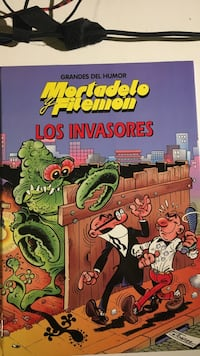 Mortadelo Filemon Los Invasores Madrid, 28017