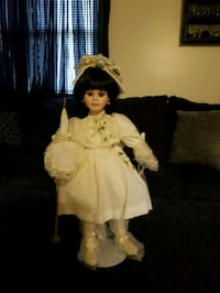 girl in white dress doll Mount Pleasant, 15666