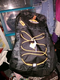 black and orange Trailmaker backpack Bloomington