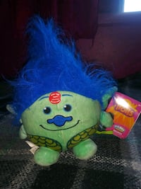 green and blue plush toy Montebello, 90640