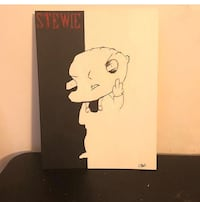 Stewie acrylic painting  Washington, 20024