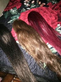 Clip on ponytails!  Bakersfield, 93307