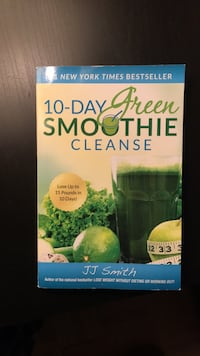 JJ Smith 10 Day Green Smoothie Cleanse  Toronto, M5R 2X1