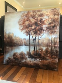 Oil painting 1*1 meter .OBO Richmond Hill, L4C 1E6