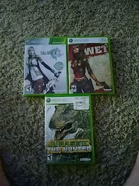 three Xbox 360 game cases Anderson, 46011