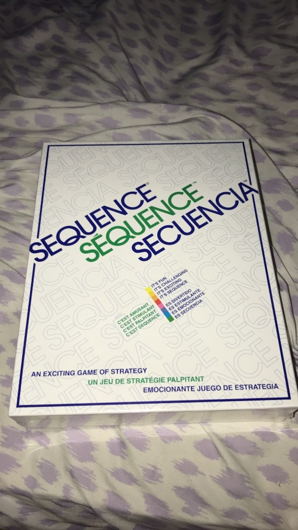 Sequence game brand new unopened