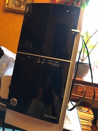 HP Pavilion 500 Series Desktop, Pre-owned, Windows, w/ Monitor, Keyboard and Mouse. Airport Extreme is extra $50. Montclair, 07043