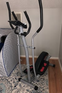 Elliptical with digital read out