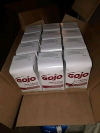 Gojo labeled box lot Manchester, 06040