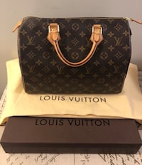 Authentic Louis Vuitton Speedy 30 Toronto, M2N 7K2