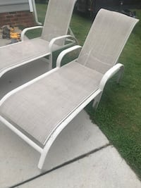 Out door lounging chairs.  Holly Springs, 27539