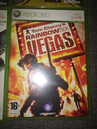 Tom clancy's rainbow six vegas xbox 360 spelväska 6632 km