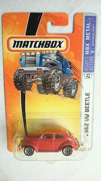 MATCHBOX 1962 VW BEETLE MBX METAL RED PRICE FIRM  Ontario, L4L 1V3
