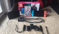 Nintendo switch+ includes everything+ 1 game Centreville, 20121