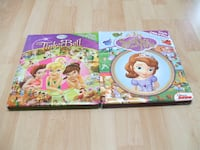Sofia the First and Tinkerbell First Look and Find Surrey