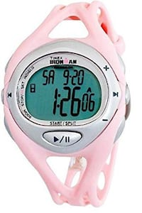 Timex Women's T5K046 Pink Ironman Sleek iControl Resin Strap Watch Alexandria