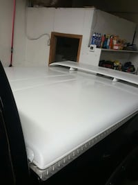 Hard bed cover with a spoiler on it it's full size Greeley, 80634