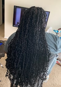 Hair styling (Passion twist) Odenton