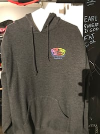 gray and black The North Face pullover hoodie Ajax, L1Z 1P4