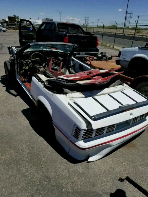 89 and 90 Ford mustang gt part out