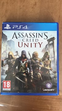 Assassin creed unity ps4 étui de jeu